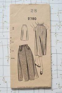50s skirt pattern