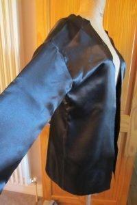 vintage coat lining