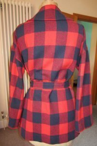 Relining My Vintage Pendleton Coat