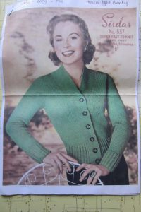 Another Vintage Knitting Project