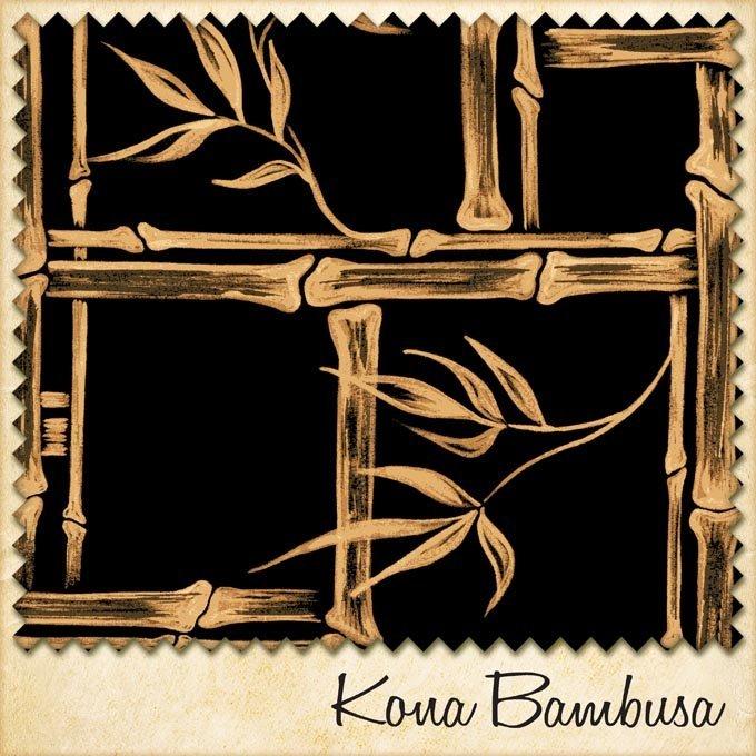 1950s fabric kona bambusa sample