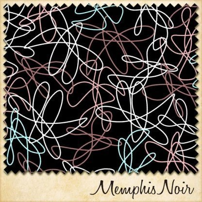 1950s fabric memphis noir sample