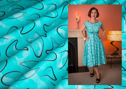 1950s vintage style clothing bluemerang