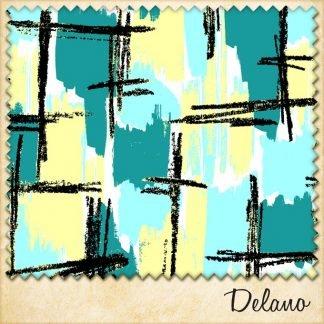 1950s vintage style fabric delano