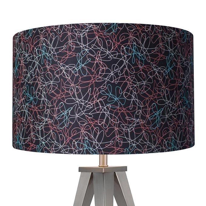 retro 1950s lampshades