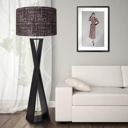 1950s retro vintage style midcentury lamp shade