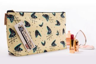 1950s vintage style atomic beauty wash bag