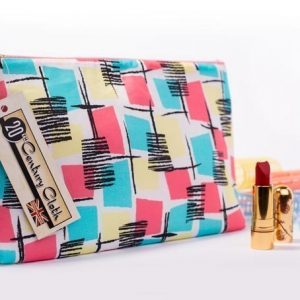 1950s vintage style beauty wash bag