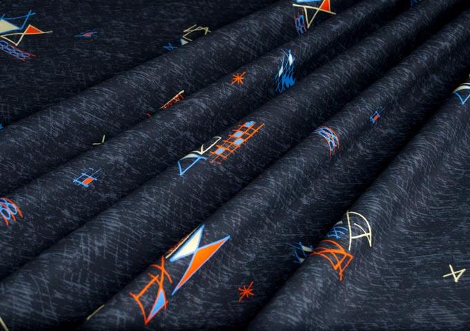 1950s vintage style fabric senora