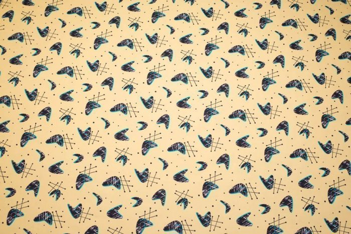 1950's retro fabric