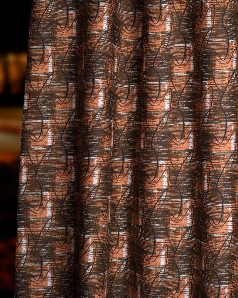 sedona mid century fabric