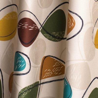 1950's retro atomic fabric