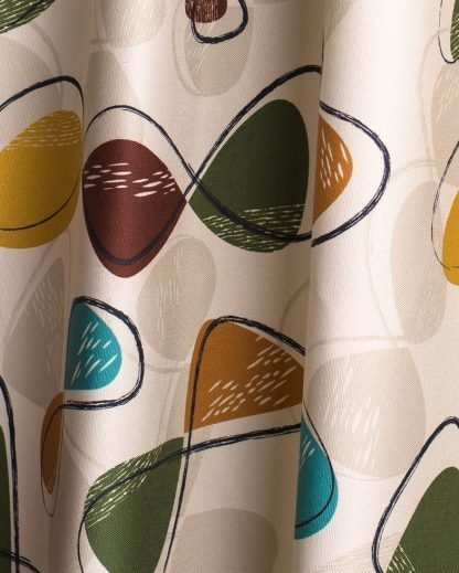 1950's retro atomic fabric