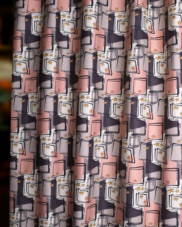 starlight mid century fabric