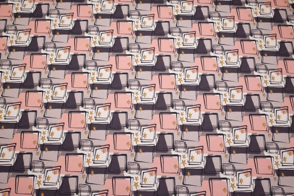 starlight 1950s fabric