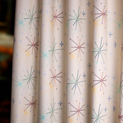 50s retro mid century fabric