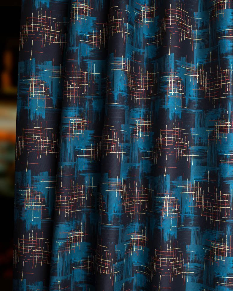 twilight mid century fabric