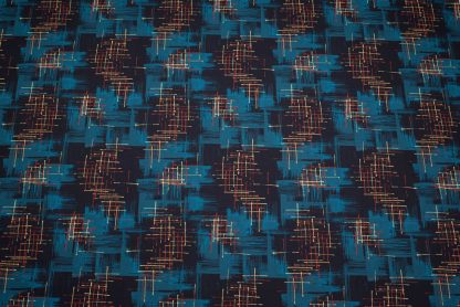 twilight 1950s fabric