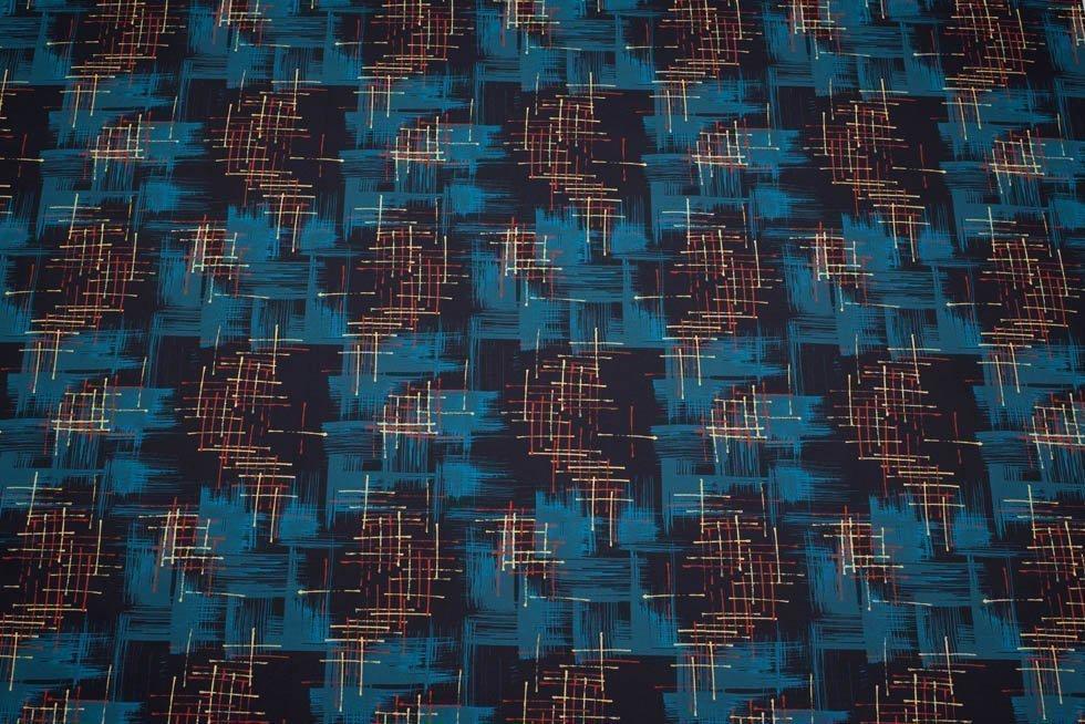 1950s retro fabric