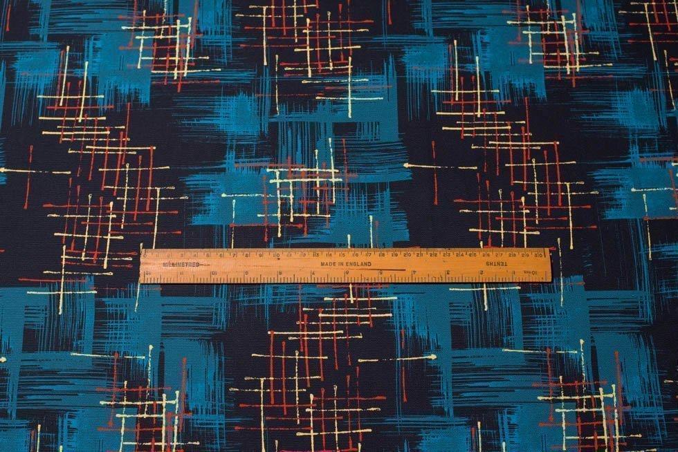 50's retro vintage fabric