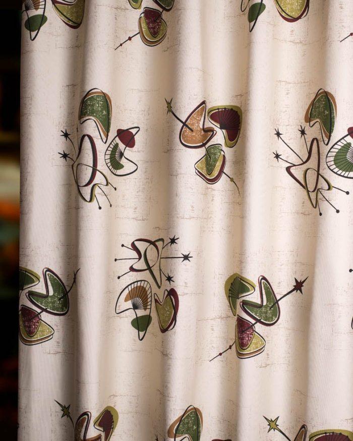 50s mid century fabric