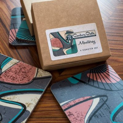 monterey retro atomic 50s coasters