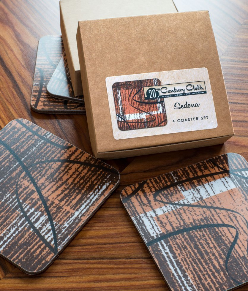 spiro retro atomic 50s coasters
