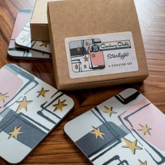starlight retro atomic 50s coasters