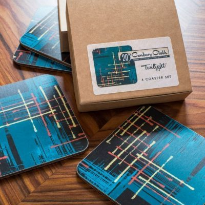 twilight retro atomic 50s coasters