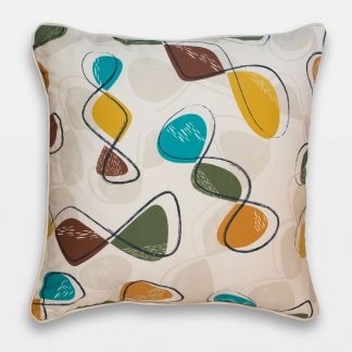 spiro retro atomic 50s cushion