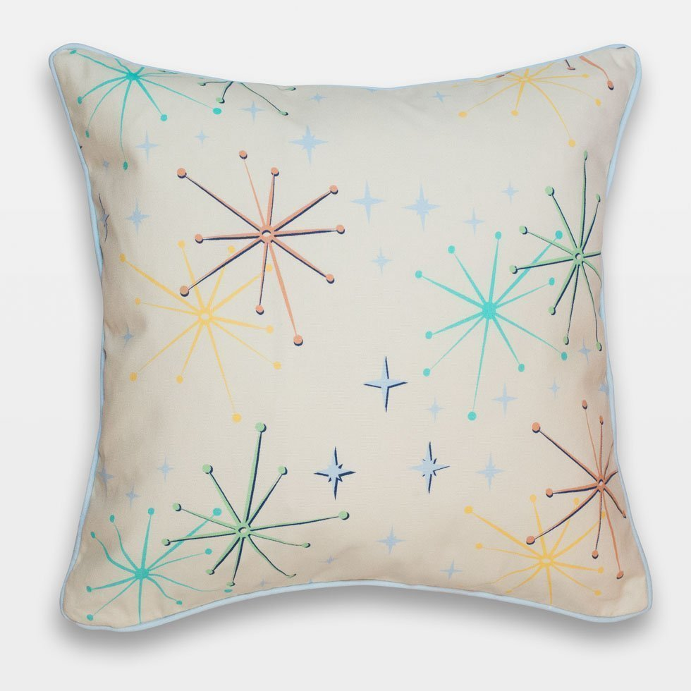 telstar retro atomic 50s cushion