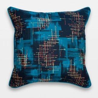 twilight retro atomic 50s cushion