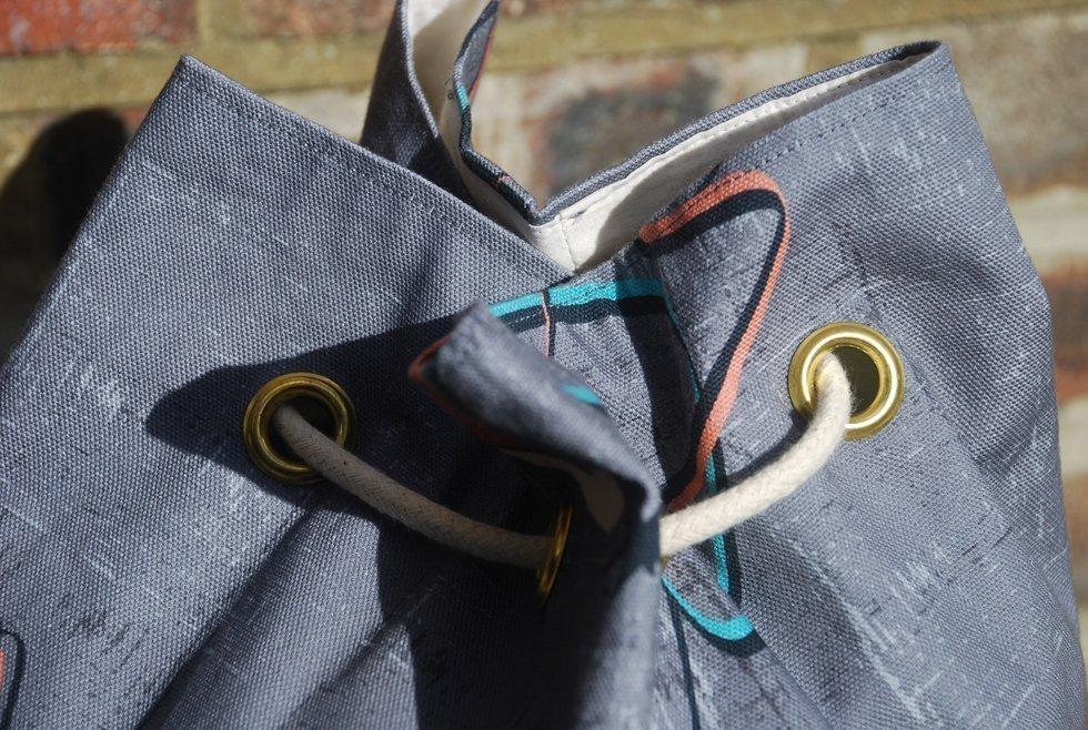 hand made rucksack