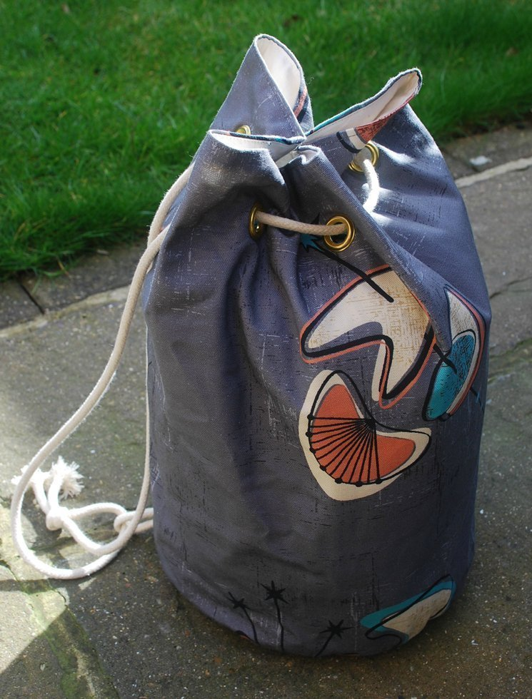 midcentury rucksack