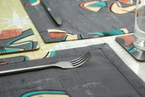 Hand made placemats