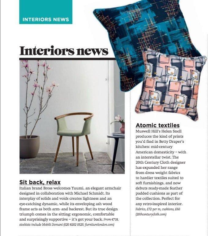 fabric magazine article