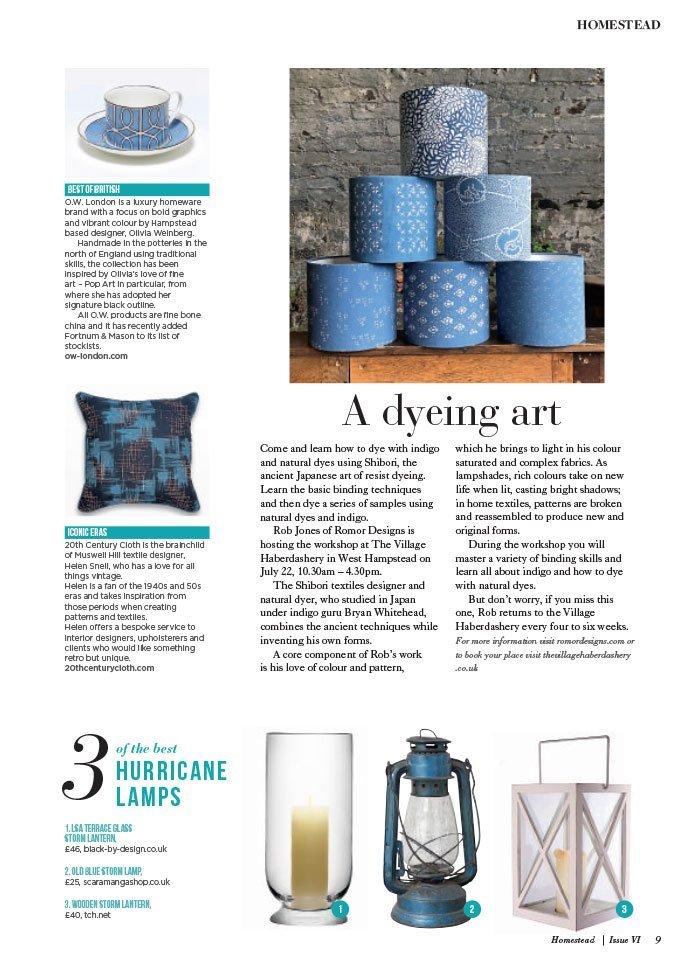 homestead magazine article