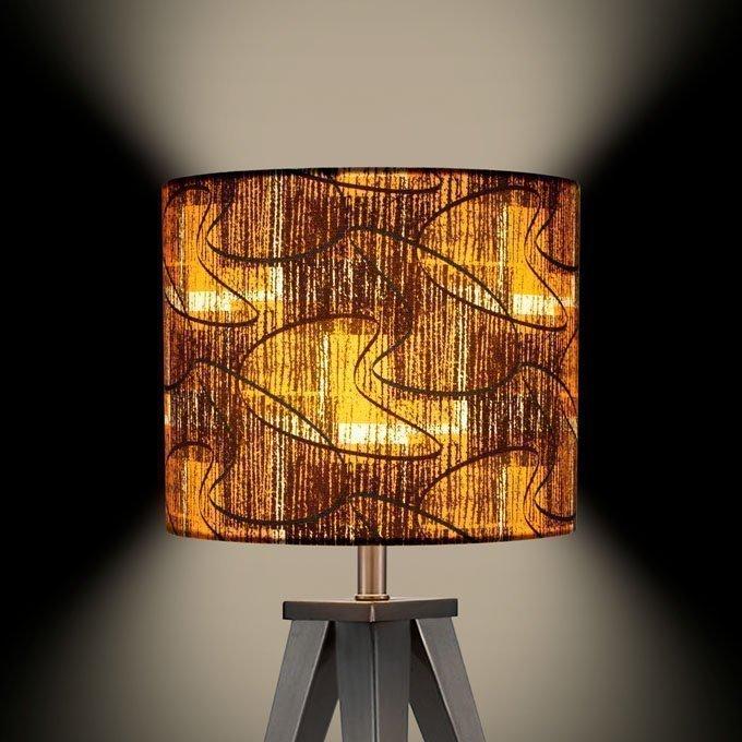 1950s retro vintage contemporary midcentury lamp shade