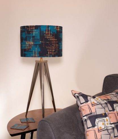1950s retro vintage contemporary midcentury lamp shade