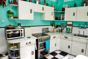 My 50s English Rose kitchen