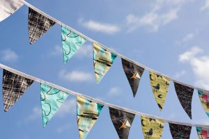 Sew your own vintage bunting