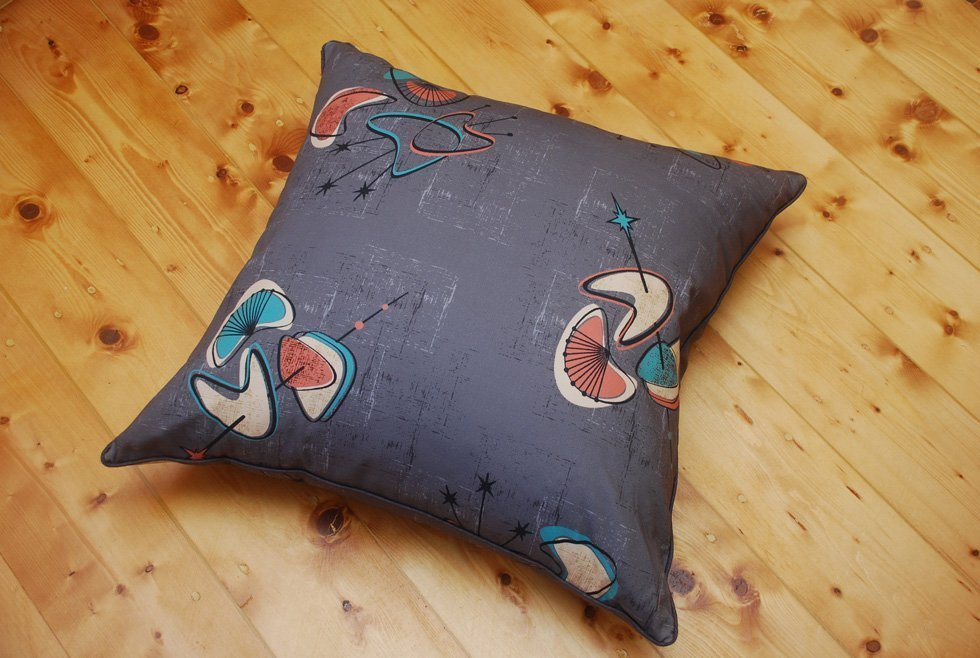 mid century floor cushion