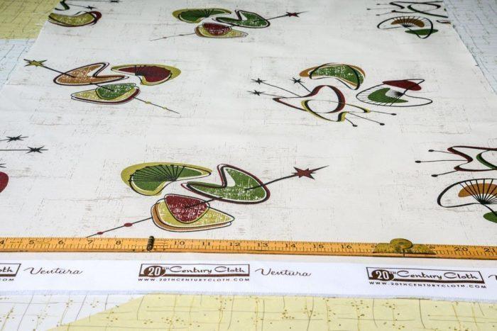 1950's fabric offcut