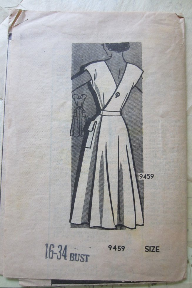 Marian Martin vintage dress sewing pattern