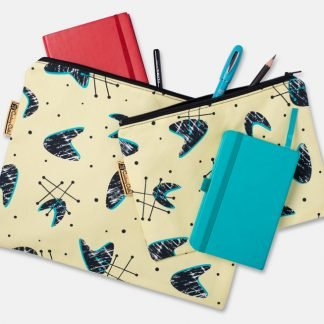 set of two pouches