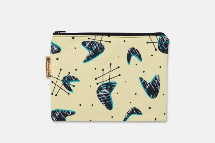 atomic style cosmetic bag