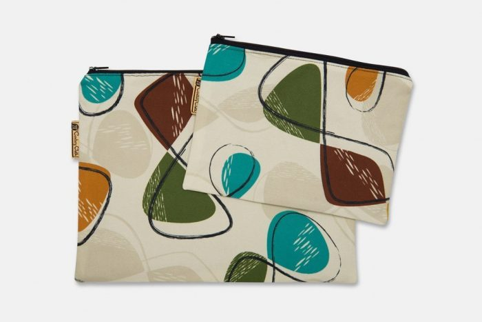 toiletry and cosmetic bag set