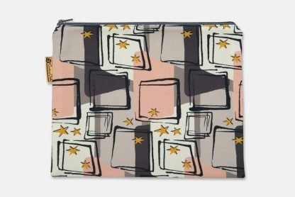 mid century ipad mini pouch