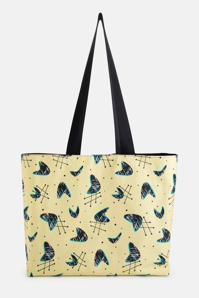 atomic style shopping bag