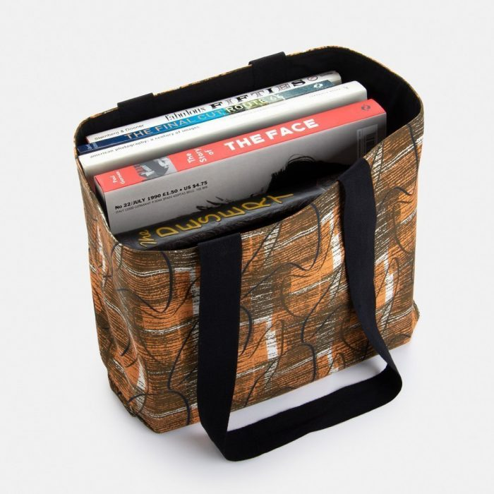 mid century college book bag